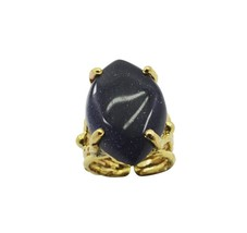 Sunstone Gold Plated fascinating exporter Ring ... - $13.48