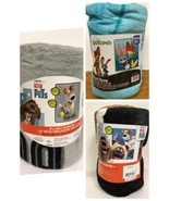 Set Of 3 Plush Throw Blankets - Zootopia And Secret Life Of Pets - $39.99