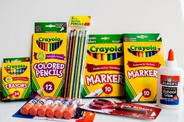 Crayola Arts and Crafts Kit Bundle Pack Supplies School Classroom Teache... - $26.61