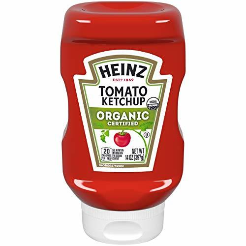Heinz Organic Tomato Ketchup 14 oz Bottles, Pack of 6