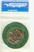 Voyager Badlands Natural History Assoc. South Dakota SD Tourist Souvenir Patch - $11.73