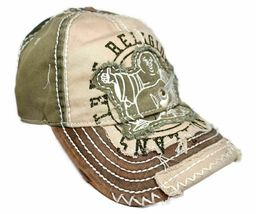True Religion Men's Premium Vintage Distressed Buddha Trucker Hat Cap TR1101 image 7