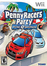 PENNY RACERS PARTY TURBO-Q SPEEDWAY Wii Complete CIB Good - $8.91