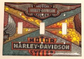 Harley-Davidson MotorCycles Light Switch Outlet Wall Cover Plate Home decor image 6