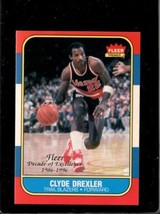 1996 Fleer Decade Of Excellence #1 Clyde Drexler Nm *E8850 - $4.95