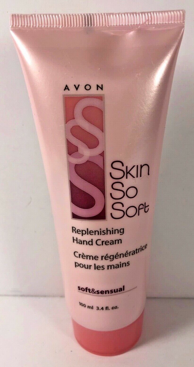 Avon SKIN SO SOFT Soft & Sensual Replenishing Hand Cream 3.4 fl.oz.