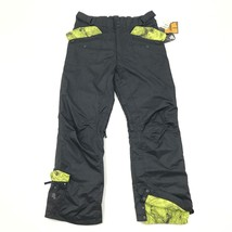 Nuevo 555 Hombre Nieve Pantalones Talla XL 1x Hybrix Impermeable Triple ... - $58.81