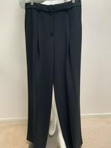 Theory Black Adamaris Dress Pants front Pleat Retail $315 New - $78.95