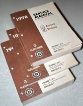 1998 OLDSMOBILE AURORA BUICK RIVIERA Service Shop Manual Set W TRANS UNI... - $120.99