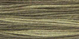 Pelican Gray (1302) Weeks Dye Works 6 strand hand dyed floss - $2.25