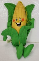 Hallmark Lee J. Cobb Plush Anthropomorphic Vegetable Cob of Corn 1984 - $14.99