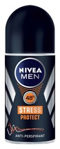 Nivea Men STRESS PROTECT roll-on deodorant anti-perspirant 50ml- FREE SH... - $8.90