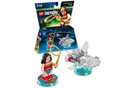 Toys-Lego Dimensions: Fun Pack - DC Wonder Woman /Video Game Toy  GAME NEW - $21.37