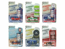 Greenlight Running on Empty Series 7 Set of 6 Cars 1/64 Diecast   - $49.49