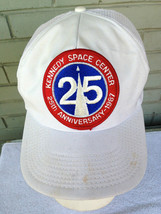 Vintage NASA Kennedy Space Center 25th Anniversary 1987 Snapback Trucker... - $13.34