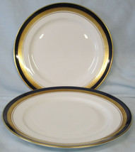 "Aynsley Cobalt Royale Salad Plate 8"",  Pair - $40.48"