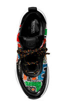 Michael Kors MK Women's Olympia Party Bead Trainer Scuba Dad Suede Sneaker Shoes image 4