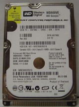 WD WD800VE 80GB IDE 2.5 inch Drive Tested Good Free USA Shipping Our Dri... - $19.95