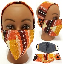 2 Pcs. - TurMask Women's Headband/Turban & Fabric Face Mask Set - $7.05