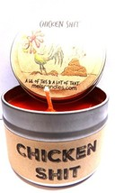 Chicken Shit (A Lil of This & a Lot of That) 4 oz All Natural Soy Candle... - $9.87
