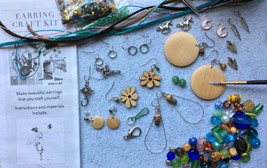 Earring Craft Kit, DIY Leather Tassels, Macrame, Wood Earring Crafts Adu... - $36.99
