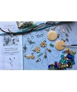 Earring Craft Kit, DIY Leather Tassels, Macrame, Wood Earring Crafts Adult Teen  - $36.99