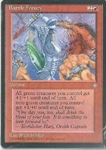 Four Battle Frenzy - Magic the Gathering - Ice Age - Wizards of the Coast. - $0.98