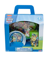 PAW PATROL-4 PC. MELAMINE DINNERWARE SET. INCLUDES A PLACEMAT! - $21.95