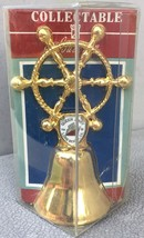 Long Beach CA Queen Mary Ships Wheel Collectible Souvenir Bell - New In ... - $10.95