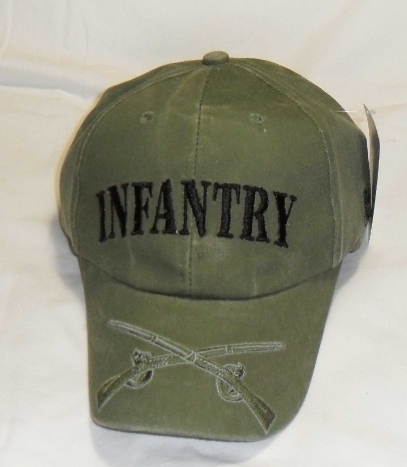 US ARMY INFANTRY - US Army Crossed Weapons BL-ODG Military Baseball Cap Hat