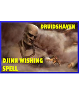 DJINN SPELL, Wish, Wishing SPELL, genie summoning, jinn invocation - $77.00