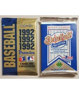 Upper Deck & OPC Baseball Cards Lot of 2 (Two) Sealed Unopened Wax Packs* - $13.84