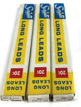 Lot of 3 Unused boxes Vintage Scripto Long Leads No. E-440HB (12 pcs per... - $14.80
