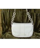 Kate Spade White Leather Layne Shoulder Handbag $425++ - $134.99