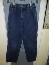 Legendary Gold Carpenter Jeans W/Adjustable Waist Size 16 Boy's EUC - $16.00