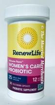 Renew Life Ultimate Flora Women's Care 25 Billion 30 capsules each 9/202... - $11.45