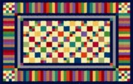 Latch Hook Rug Pattern Chart: Groovy Granny - EMAIL2u - $5.75