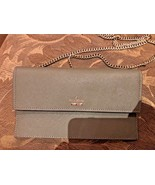 Authentic Kate Spade Cameron Street Brennan Leather Crossbody Olive - $62.88