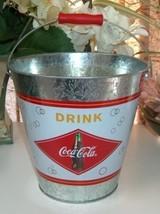 Coca Cola Galvanized Pail - $8.00