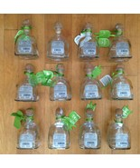 Lot of 12 Patron Silver Tequila De Agave Empty Bottles Corks 375 ml Arts... - $148.49