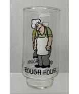 Vtg Rough House Popeye Glass Cup Coca Cola Kollect-A-Set Series 1975 - $10.84