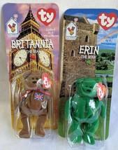 NIB RARE LIMITED ERROR 1993 Ty & Ronald McDonald House Erin & Britannia ... - $9.99