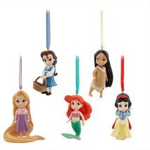 Disney Animators' Princess Sketchbook Ornaments Belle Ariel Snow White R... - $79.14