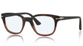New Persol  PO3093V 9025 Havana Gradient/Red Antique Eyeglasses Frame 48mm - $98.99
