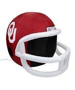 NCAA Oklahoma Sooners Team Inflatable Lawn Helmet, Red, One Size - $69.99