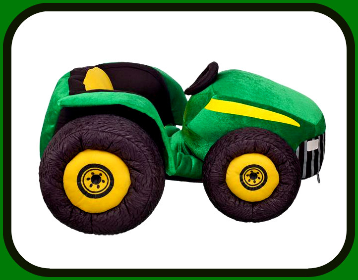 New John Deere Tractor Build a Bear JD Farmers Market Teddy Size Plush Farm Toy