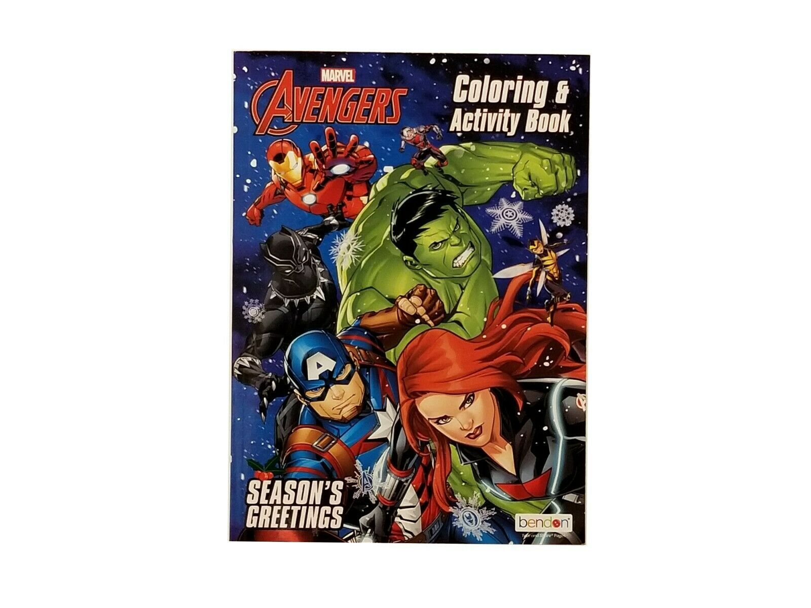 Marvel's Avengers Coloring & Activity Book - Season's Greetings Holiday Edition