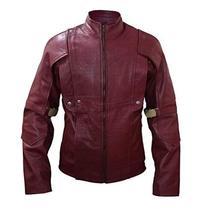 Star Lord Guardians of Galaxy Peter Quill Chris Pratt Biker Leather Jacket image 1