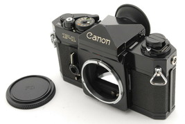 """  N Mint "" Canon New F-1 Eye Level 35mm SLR Film Camera Black Body From... - $257.20"