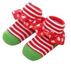 Children's Floor Socks Newborn Baby Socks Stereo Female Baby Princess Lace Socks